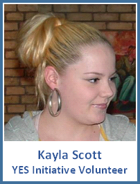 Kayla Volunteer
