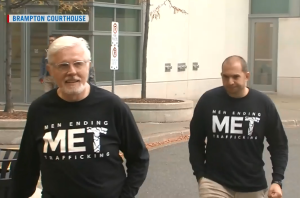 Two MET Team Members at Brampton Court. Photo Source: CTV News